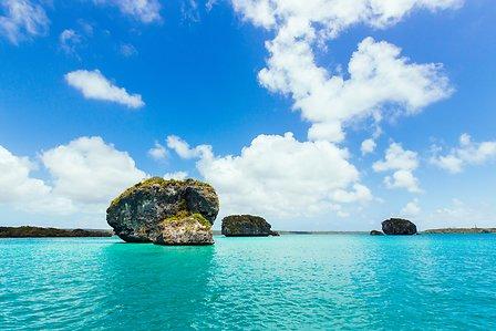 Séjour en Nouvelle Calédonie baie d'Upi de île des Pins un voyage routedelacaledonie.com