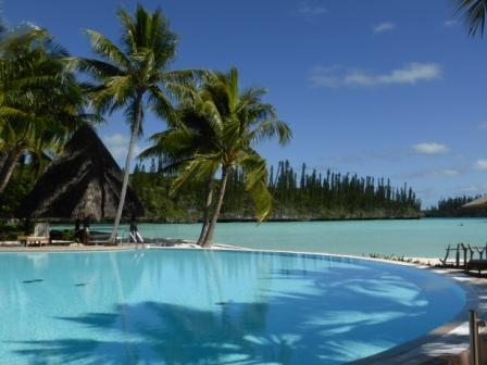 sejour voyage circuit caledonie piscine meridien ile des pins