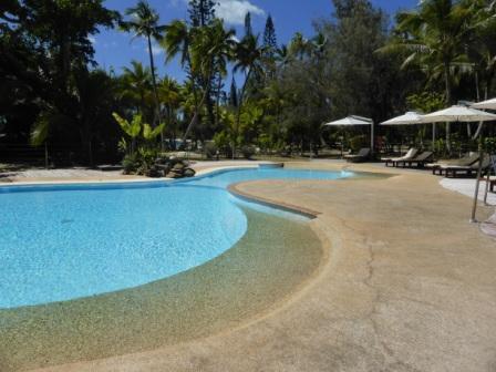 voyage sejour vacances caledonie piscine hotel oure tera