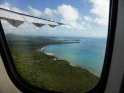 voyage vacances caledonie ile des pins vue du ciel